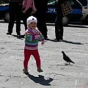 Walk Like A Pigeon Poster