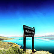 Walker Lake Poster