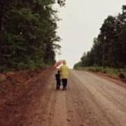 Walking Up North With Grandma Poster