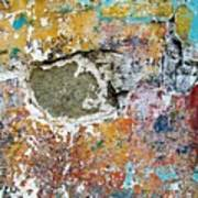 Wall Abstract 196 Poster
