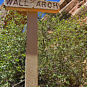 Wall Arch Arches Utah Poster