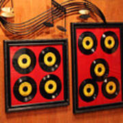 Wall Of Records Poster