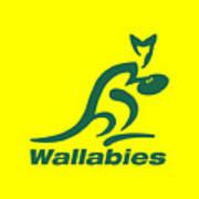 Wallabies Poster