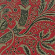 Wallpaper Sample With Bamboo Pattern By William Morris Poster