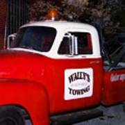 Wallys Service Truck Poster