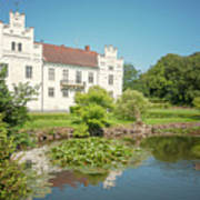Wanas Castle Duck Pond Poster