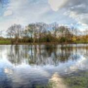 Wanstead Park Reflections Poster