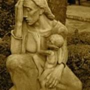 War Mother By Charles Umlauf Poster