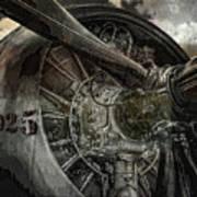 War Plane Propeller Poster