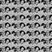 Warhol - Three Stooges Andy Warhol Poster