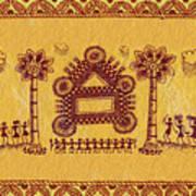 Warli Ceremony Poster
