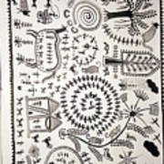 Warli Tribal Painting  Poster