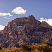 Warm Light In Red Rock Canyon Poster