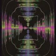 Warping Neon Poster