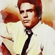 Warren Beatty, Vintage Movie Star Poster