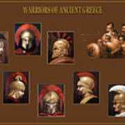 Warriors Of Ancient Greece Poster