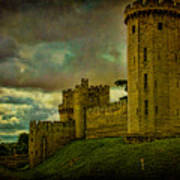 Warwick Castle Poster by Chris Lord