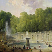Washerwomen In A Park Poster
