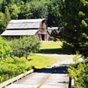 Washington Country Barn Poster