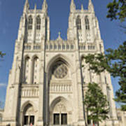 Washington National Cathedral Front Exterior Poster
