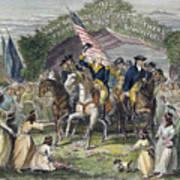 Washington: Trenton, 1789 Poster