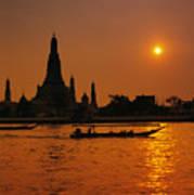 Wat Anun Temple Poster