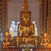 Wat Suan Dok Wihan Luang Buddha Images Dthcm0952 Poster
