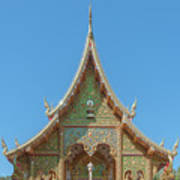 Wat Suan Prig Phra Wihan Gable Dthcm2391 Poster