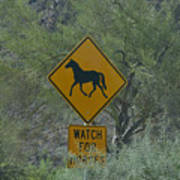 Watch For Horses Poster