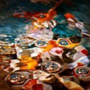 Water Art Poster