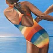 Water Dance Poster