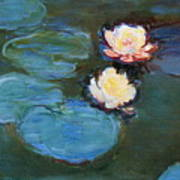 Water Lilies 1899 Poster