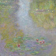 Water Lilies 1908 Poster