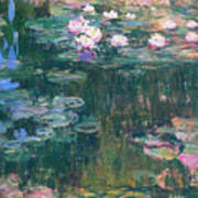 Water Lilies 1917 4 Poster