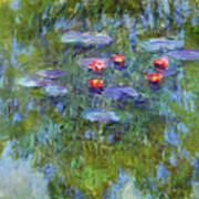 Water Lilies 1919 3 Poster