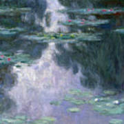 Water Lilies, Nympheas, 1907 Poster