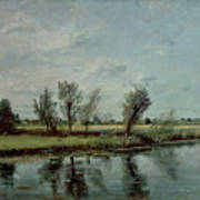 Water Meadows Near Salisbury Poster