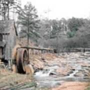 Old Mill Near Atlanta, Ga. Poster