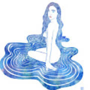 Water Nymph Cii Poster