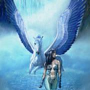Water Pegasus Poster