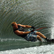 Water Skiing Magic Of Water 11 Poster