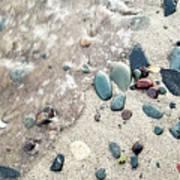 Water Stones Poster