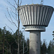 Water Tower Of Lohja  Station Poster