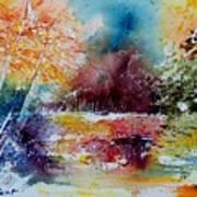 Watercolor 140908 Poster
