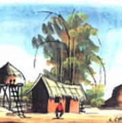 Watercolor 45 Poster
