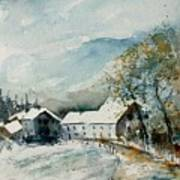 Watercolor Sechery 1207 Poster by Pol Ledent