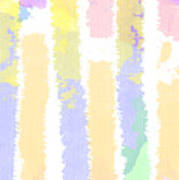 Watercolour Abstract Strips 2 Poster