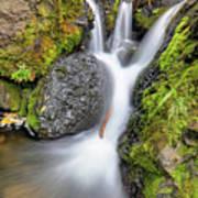 Waterfall Atop Wolf Creek Pass - Colorado - Nature Poster