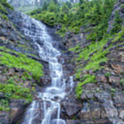 Waterfall Below The Garden Wall Poster