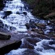 Waterfall In Georgia Poster
